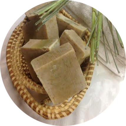 Lemongrass\Ginger\Earth Soap